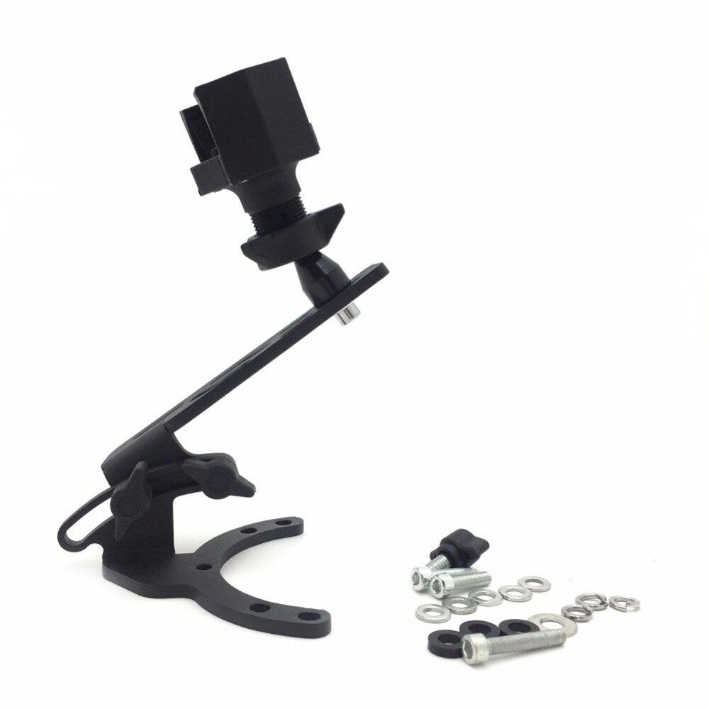 Caméra de moto/GPS/téléphone portable/support de réservoir Radar avec support pour motos Kawasaki-toutes les années avec bouchons de gaz traditionnels
