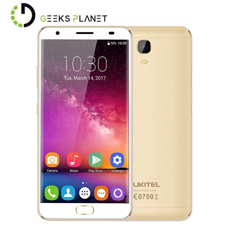 bilder für Original OUKITEL K6000 PLUS 4 GB RAM 64 GB ROM Android 7.0 MTK6750T 1,5 GHz Octa-core 5,5 Zoll 2.5D FHD Bildschirm 4G LTE Smartphone