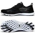 Novos Homens Respirável & mujer Sapatos Casuais Macio E Confortável Sapatos Leves Ao Ar Livre Sapatos de Viagem Sapato Tamanho Grande Masculino