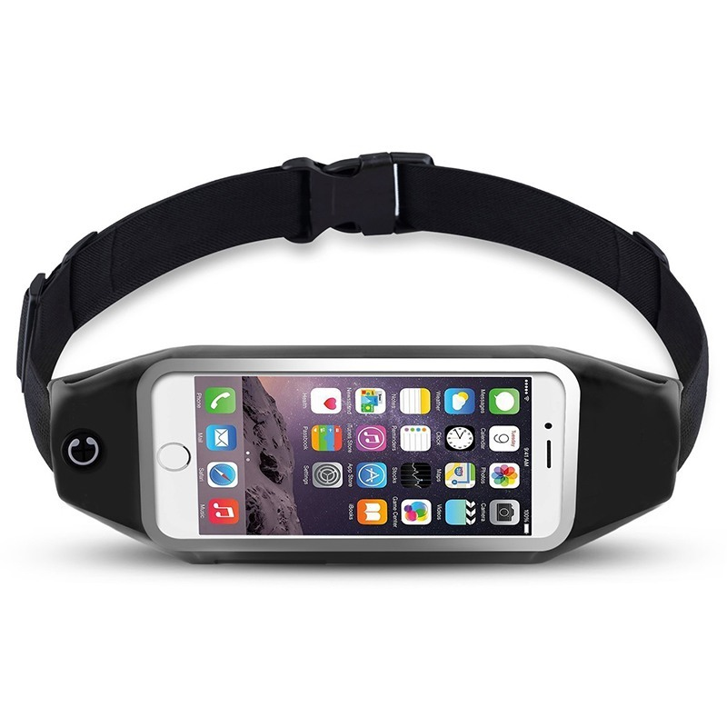 Ascromy Running Belt Waist Pack for iPhone 7 6S 6 Plus 5 Galaxy S5 S6 S7 Edge Note 4 5 LG G3 Case Cover Mobile Phone Accessories