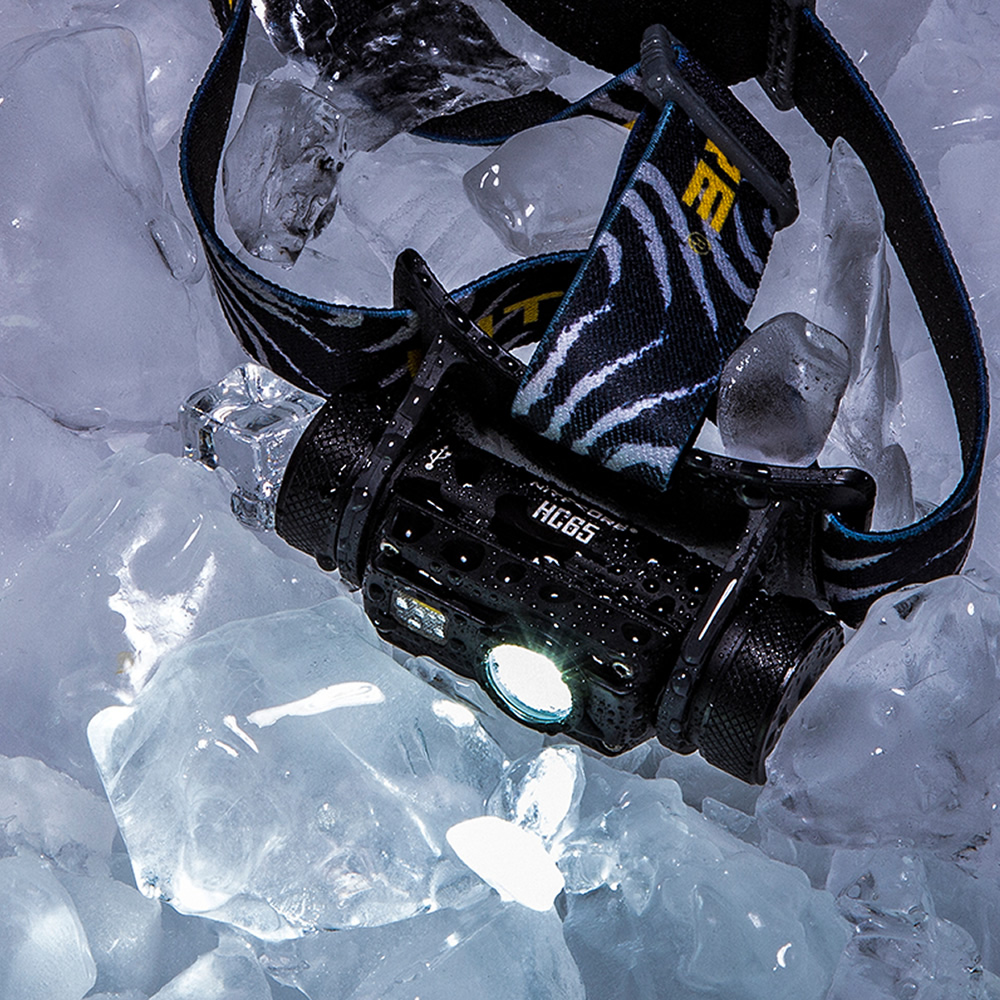 Nitecore HC65 18650 rechargeable LED Headlamp CREE U2 1000LM Triple Output Ourdoor Headlight Waterproof Flashlight Free Shipping 4