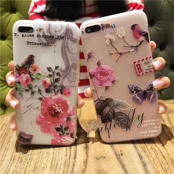 Beautiful Flower Cool Colors Covers For All iPhone 1