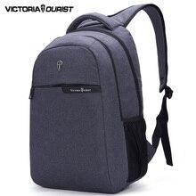 Victoriatourist 15.6 pulgadas laptop backpack hombres/ocio de los hombres mochilas/computer back pack para hombres/v9003 gris