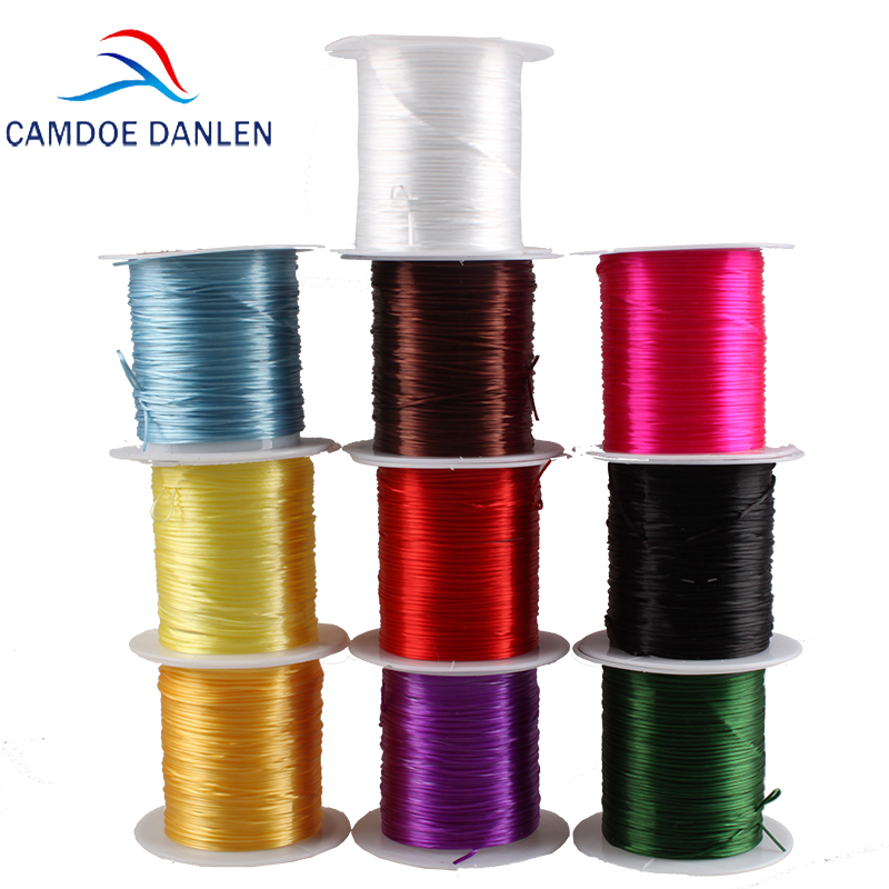 1Roll/lot 0.8mm Clear Elastic Thread Crystal Line Nylon Rubber Stretchy Cord Beading String Bracelets Necklace Craft Diy Making1Roll/lot 0.8mm Clear Elastic Thread Crystal Line Nylon Rubber Stretchy Cord Beading String Bracelets Necklace Craft Diy Making