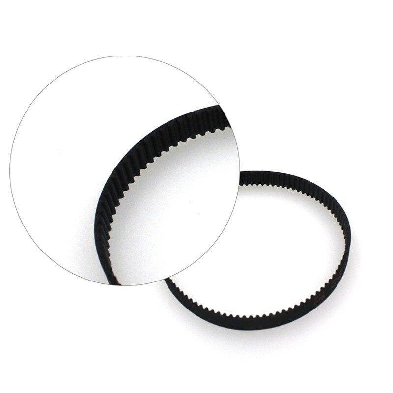 New Brand 3d printer belt closed loop rubber GT2 timing belt 200-2GT-6 Length 200mm width 6mm 7
