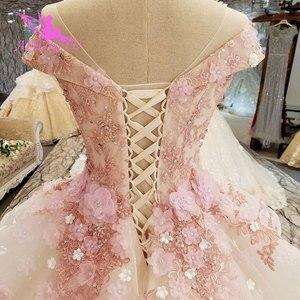 Image 4 - AIJINGYU טורקיה כלה שמלת שמלות הודי Sheer Robe אמא של הכלה במסיבה שני באחד שמלת כלה קטנה שמלות
