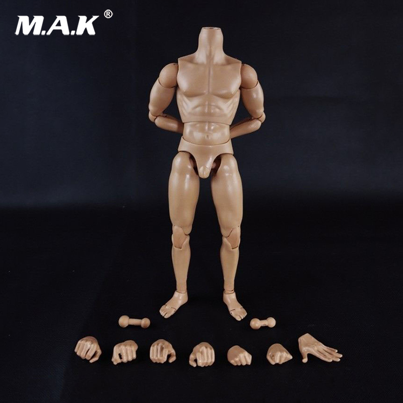 1:6 Scale Nude Male Body Muscle Man Soldier Model Toy for 12 inches Action Figure 1 6 bloodstain normal wolverine claw hands type model for 12 inches male action figure