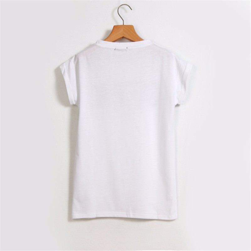 HTB1Ugv6KXXXXXXFXFXXq6xXFXXXt - Summer Style Geek Letter Print T Shirt Women