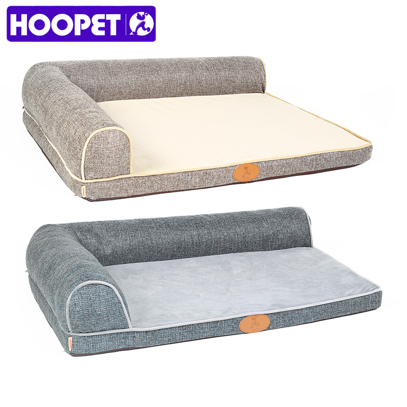 HOOPET Pet Removable Dog Bed Four Seasons Medium Large Pet Products Sofa Summer Cushion
