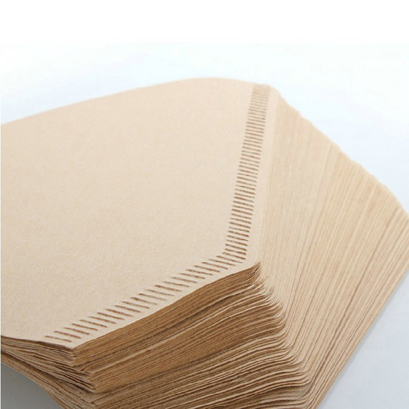100pcs:  100pcs Disposable Coffee Fillters Kitchen Accessories Coffee Filtering Paper Made of Coniferous Wood Paper Pulp Coffeeware Aid - Martin's & Co