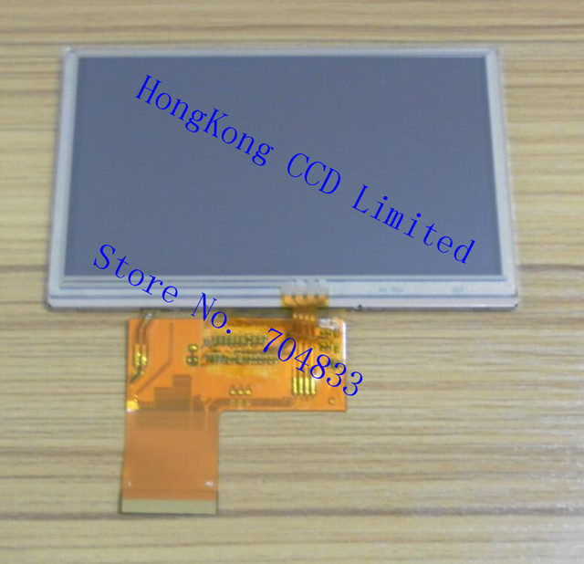 BI43WQV034 WT 4,3 дюймовый TFT LCD экран RGB интерфейс 480x272 с резистивным касанием