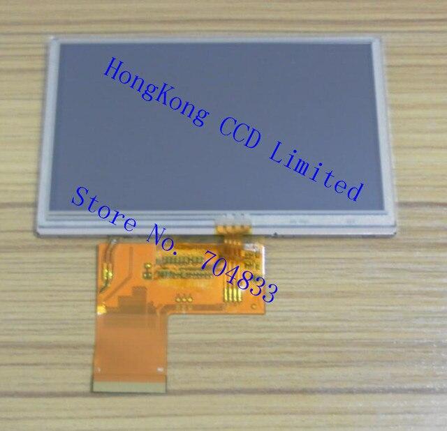 מסך LCD TFT 4.3 inch BI43WQV034 WT ממשק RGB 480x272 עם מגע resistive