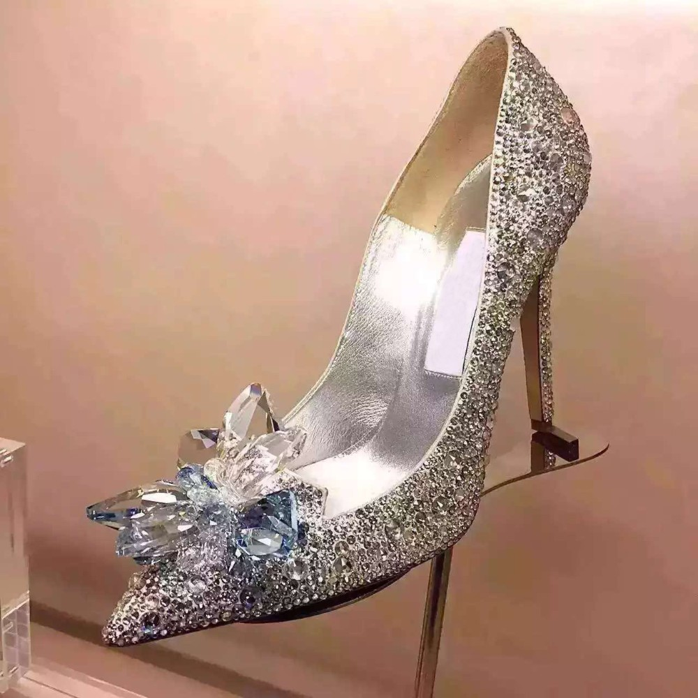 Popular Swarovski Crystal Wedding Shoes-Buy Cheap Swarovski ...