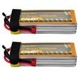 2 pçs/lote You & me RC Li-Bateria Li-poly 14.8 V 5000 mAh 50C Max 100C 4S Recarregável AKKU Batteria Baterias