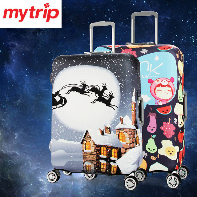 Mytrip 20/24/28/32 inch Thicken Travel Luggage Suitcase Protective Cover /Elastic Case Dust-proof Cover for suitcase