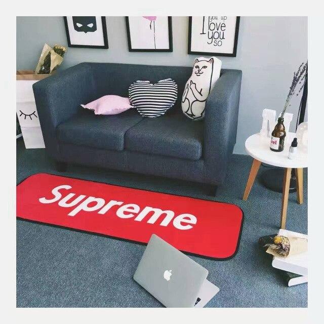 Марка верховный гостиная 50*150 50*170 см carpet диван журнальный столик коврики для вытирания ног толстые хлопка ванной сопротивление скольжению мат