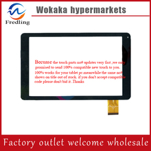 """Blanco negro 10.1 """"pulgadas DH-1022A1-PG-FPC094-V2.0 Para tablet PC de pantalla táctil digitalizador del sensor de cristal de reemplazo"""