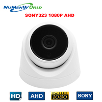 Sony Sensor IMX323 2.0MP HD AHD 1080P 3000TVL dome camera Wide Angle Len HD CCTV Security Camera with Day/night for indoor