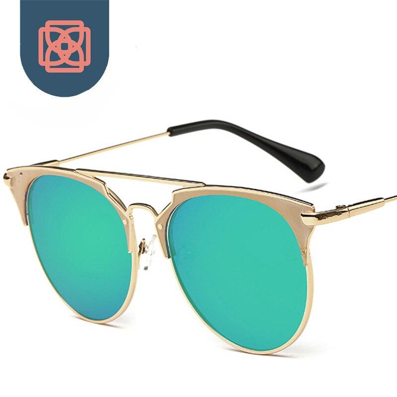 Classic Club Mirrored Sunglasses Retro Gold Wire Frame Sun Glasses ...
