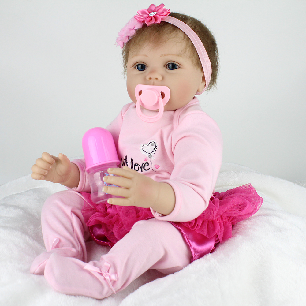Kaydora 22 Inches Silicone Reborn Baby Dolls Toys For -2115