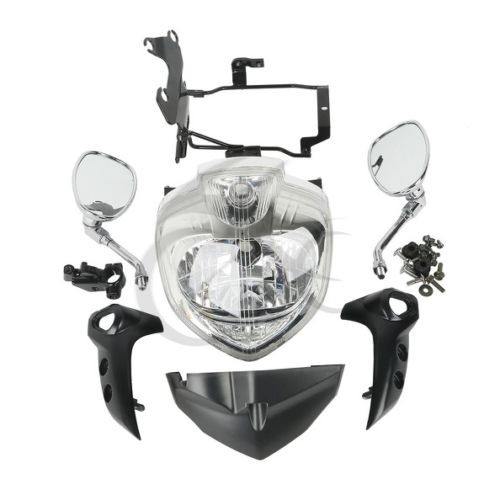 Мотоцикл фары комплект головного света Ассамблеи на 2007 - 2009 компания YAMAHA FZ6N FZ6S fazer с 2009 2008