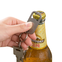 XZJJA портативный Нержавеющая сталь брелок открывашка для пива Путешествия Открытый Пикник открывалка ужин вечерние инструменты для бара ключ открывалка для бутылок