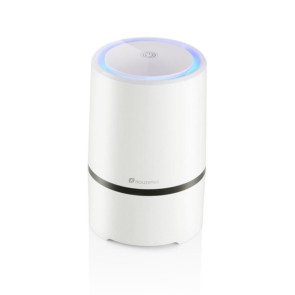 Houzetek Air Purifier HEPA Filter Portable Ozone Ionic Air Purifier Air Cleaner Remove Smoke Odor Bacteria Mini Ozone Purifier xiaomi mi smart air purifier 2nd gen hepa home air cleaner app control