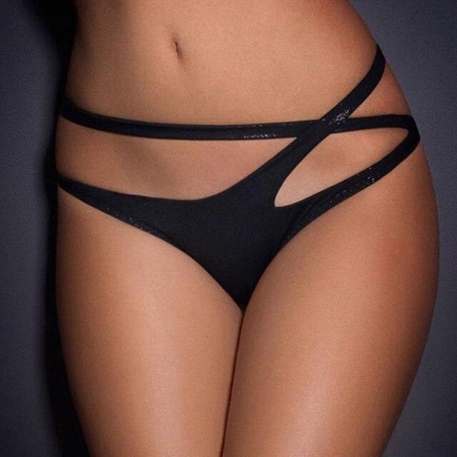 Sexy panties crotchless