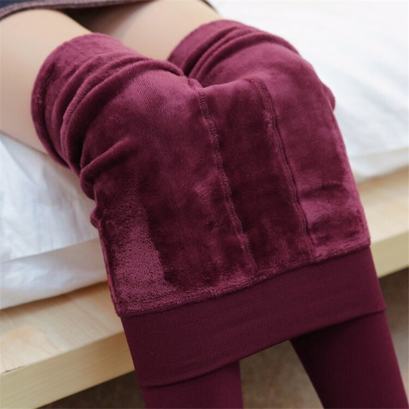 Cotton Tights For Women 2017 Winter Thick Warm Fleece Ladies Pantyhose Plus Size Elastic Stocking Hot Sexy Hosiery Collant Femme
