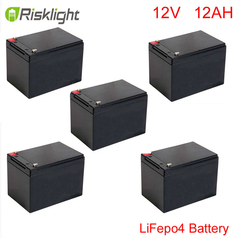 LiFePO4 battery cycle 12v 12ah for energy storage/solar system/LED lighting/Medical use/electric bike /golf car