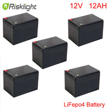 LiFePO4 батарея цикла 12 В 12ah для хранения энергии/Солнечная система/светодиодное освещение/Спецодежда медицинская использования/Электрический велосипед/Гольф автомобиля