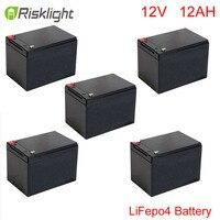 LiFePO4 pil döngüsü enerji depolama için 12 v 12ah/güneş sistemi/LED aydınlatma/Tıbbi kullanım/elektrikli bisiklet/golf araba