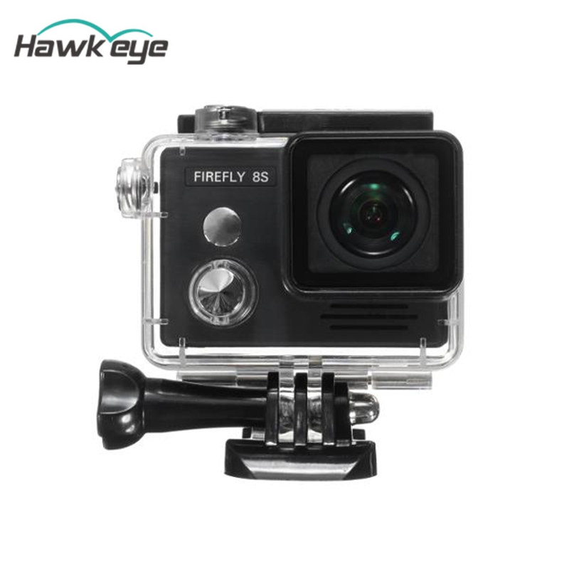 Original Hawkeye Firefly 8S 4K 90 Degree FOV HD Visual Angle WIFI Action Sports Camera Cam w/ Cam Helmet For Photograph Drone ...