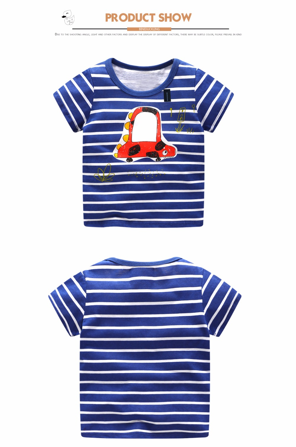 HTB1UgxregjN8KJjSZFCq6z3GpXaK - BINIDUCKLING Children T-shirt Boys t shirt Short Sleeves Tees Summer Kids Tops Dinosaur printed Baby Boy Clothing Cotton fireman