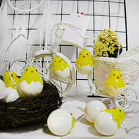 Novelty Chicks Led Light String 3M 20 Leds Halloween Easter Christmas Holiday Party Light Decoration Powered
