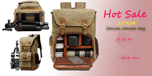 New Portable Small Travel Camera Bag Waterproof Casual Shoulder Bags for Canon Mini Shockproof