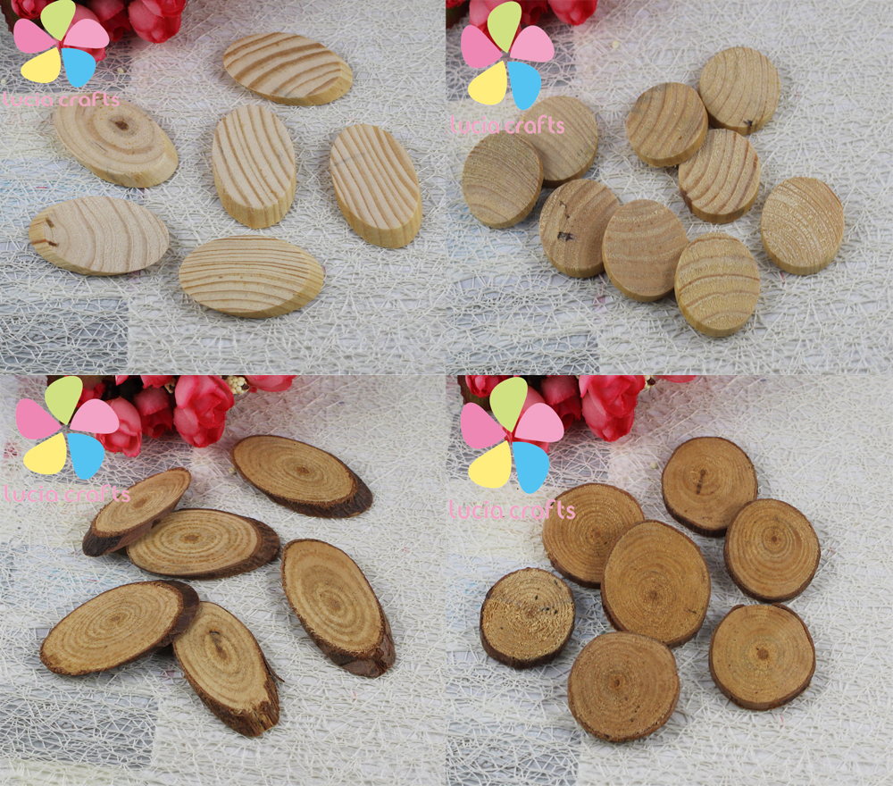 Sale multi sizes multi package options oval wooden for Wooden craft supplies online