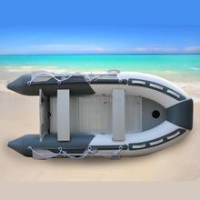 GTS330 Гете алюминиевый пол и надувные ПВХ Рыбалка рафтинг ПВХ надувная лодка
