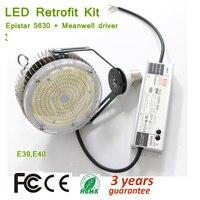 150 W Led Retrofit ערכות עבור קיר חבילה  E39 E40 Lampholder חניון אור קבועה  5000 K 18000lm  450 ואט HID MH; HPS החלפה-בנורות וצינורות LED מתוך פנסים ותאורה באתר