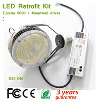 150W Led Retrofit Kits for Wall Pack,E39 E40 Lampholder Parking Lot Light Fixture,5000K 18000lm,450 Watt HID MH; HPS Replacement