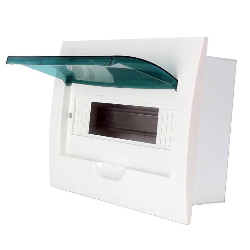 цена на shthde brand 6-36 ways Plastic distribution box for circuit breaker indoor on the wall ( 8ways)