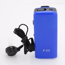 Best Hearing Aid personal sound amplifier F-22 ear Aids Ear Care Health Products Adjustable for the Deaf