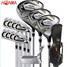 Новый 525 клюшки для гольфа HONMA BEZEAL 525 полный набор HONMA Golf driver. Дерево. утюги. клюшка для клюшек графитовая клюшка для гольфа плюс сумка Бесплатная доставка