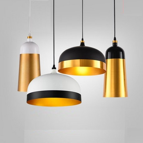 Nordic Loft Style Half Aluminum Droplight Modern LED Pendant Light Fixtures For Living Dining Room Hanging Lamp Home Lighting cctv ip camera 20x optical zoom blue iris full hd 1080p auto tracking ptz ip camera with wiper ir 150m high speed dome camera