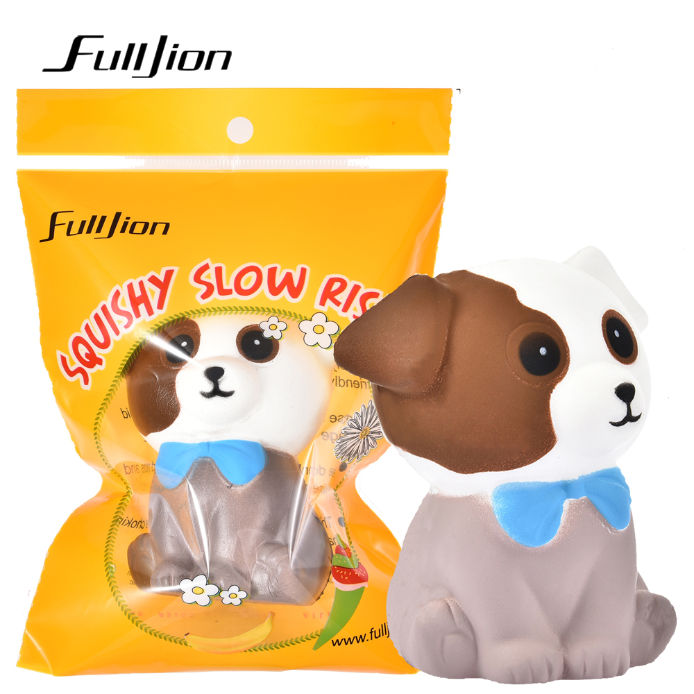Fulljion Fun Antistress Entertainment Squishy Dog Squish Novelty Gag Toys For kid Stress Relief Anti Stress Surprise Popular Toy [yamala] dhl 100pcsfunny face emotion vent ball toy resin relax doll stress relieve novelty antistress toys for adult