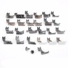 طقم ماكينة الخياطة 25 قطعة دواسة قدم القدم لماكينة الخياطة الصناعية JUKI DDL 5550 8500 8700 أدوات منزلية