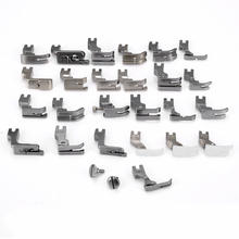 25Pcs Sewing Machine Presser Foot Feet Set for JUKI DDL 5550 8500 8700 Industrial Sewing Machine Household Tools