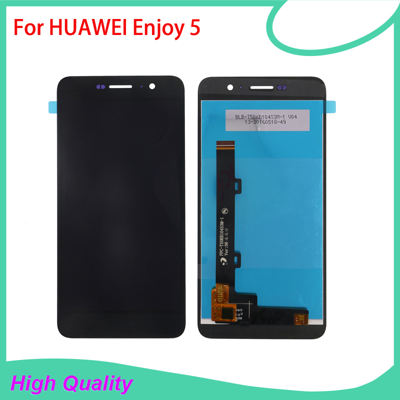 цены  100% Guarantee High Quality LCD Display Touch Screen For HUAWEI Enjoy 5 Mobile Phone LCDs Touch Panel Free Shipping