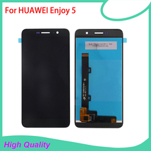 100% Guarantee High Quality LCD Display Touch Screen For HUAWEI Enjoy 5 Mobile Phone LCDs Touch Panel Free Shipping