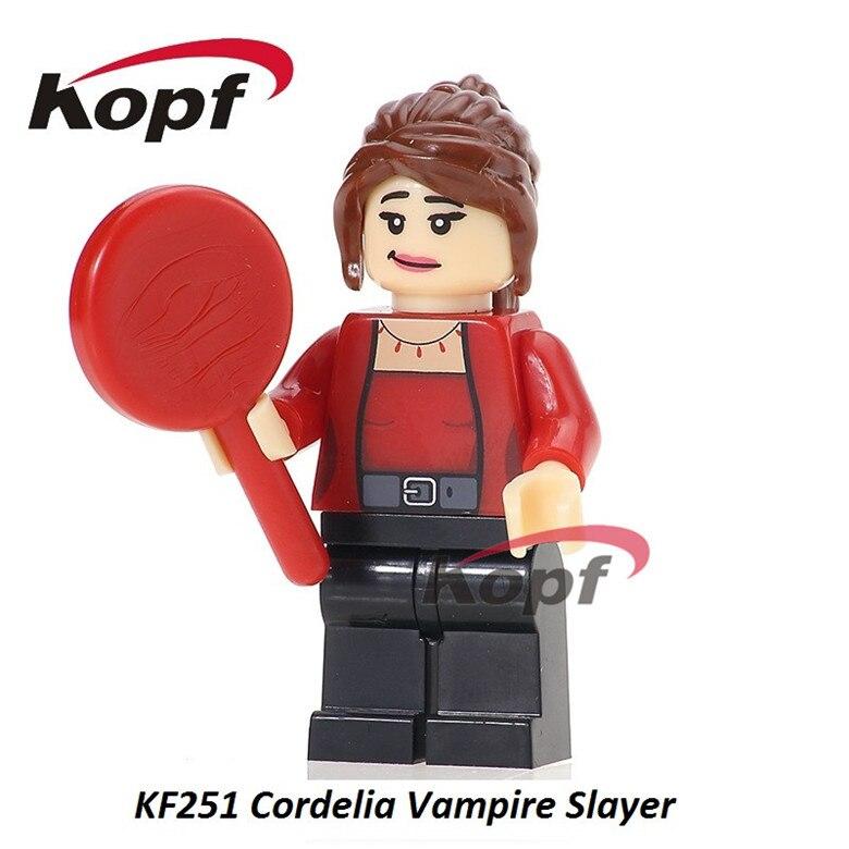 20Pcs Super Heroes Assemble Bricks The Cordella Vampire Slayer Figures Learning -9198